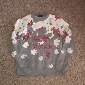 Pharrell Williams for Adidas Floral Sweatshirt